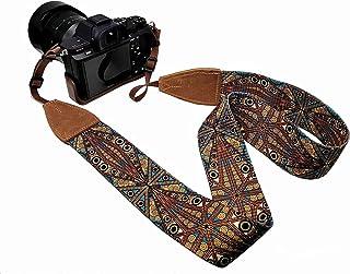 LaViePool Camera Strap Crossbody Shoulder Neck Genuine Leather End Replacement Camcorder Binocular Photographer
