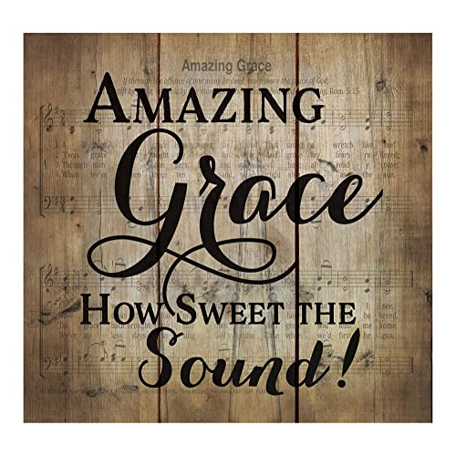 Amazing Grace Poster Hymn Inspirational Quality Large FREE P+P CHOOSE YOUR SIZE