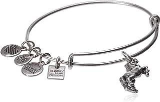Alex and Ani Unicorn EWB Bangle Bracelet, Rafaelian Silver, Expandable