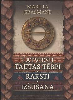 Latviesu Tautas Terpi Raksti Izsusana (Latvian National Costumes Ornaments Needlework)