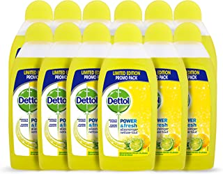 Dettol Allesreiniger Power & Fresh - Citrus- 500 ml x12 - Grootverpakking