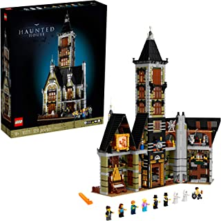 LEGO Haunted House (10273) Building Kit; A Displayable Model Haunted House and a Creative DIY Project for Adults, New 2021...