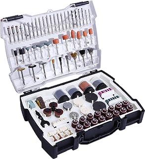 TACKLIFE 282 Aaccesorios de herramientas rotativas diámetro de mangos 1/8(3.2mm) con 4 Chucks universales para amoladora eléctrica de corte amolado lijado afilado tallado y pulido de accesorios