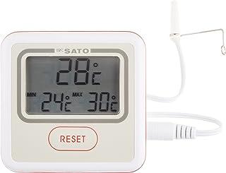 佐藤計量器(SATO) 温度計 最高最低温度記録 【現在温度と一定期間内の最高・最低温度を同時に表示】 PC-3500 1740-50