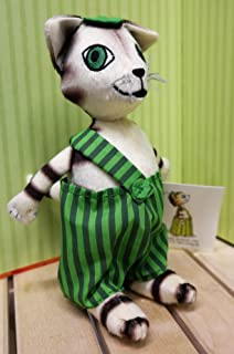 Findus the Cat Plush Doll From the Books By Sven Nordqvist
