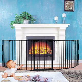 Best freestanding baby gate for fireplace Reviews