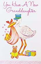 You Have a New Granddaughter Greeting Card - Congratulations on Baby Grandchild Birth -