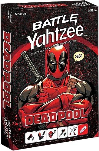 exclusivo Marvel Marvel Marvel Deadpool Battle Yahtzee Juego de Mesa  salida para la venta
