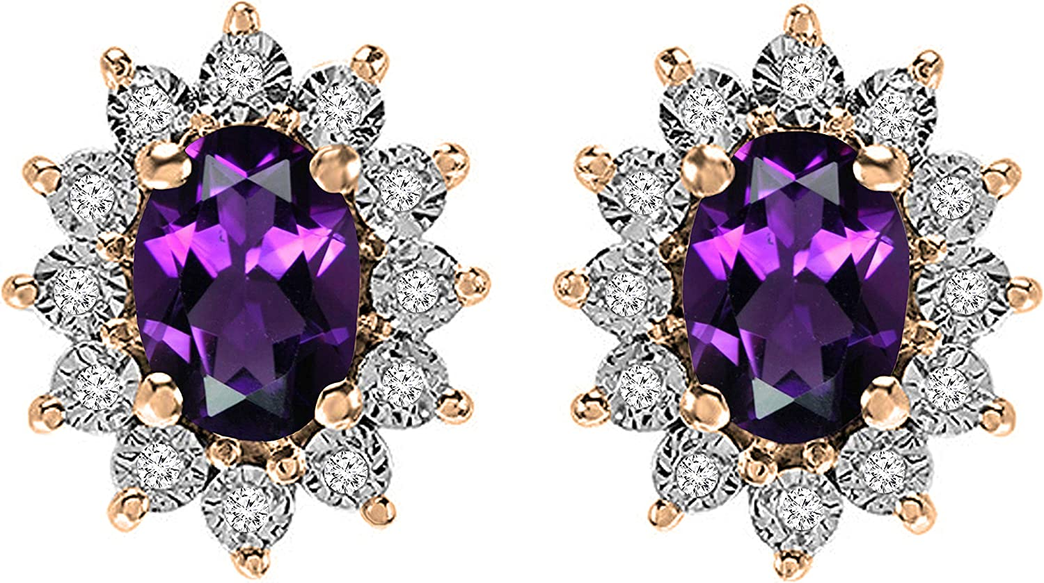 Dazzlingrock Collection Kate Middleton Trust New color Diana 7X5 Inspired Ova MM