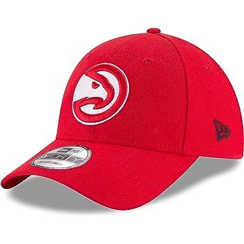Large//X-Large NBA Atlanta Hawks Mens Structured Flex Cap Red