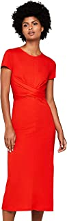 Vestido rojo casual, coctel, fiesta, dia a dia, vestir, elegante.