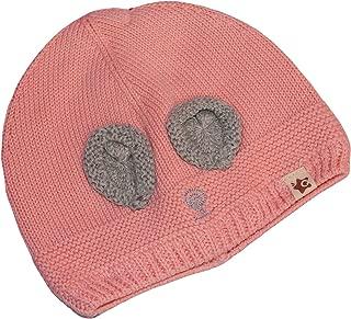 GRAPPLE DEALS Baby Girl's Woollen Winter Wear Warm Cap (Multicolour, 1 to 2 Years)