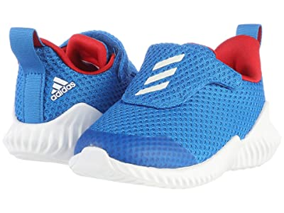 adidas Kids FortaRun AC (Toddler) (Glory Blue/White/Scarlet) Boys Shoes