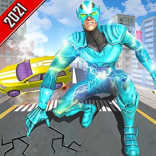 Grand Incredible Ninja Super Speed Light Helden-Verbrechenssimulator: Ultimative 3D-Heldenspiele zur Rettung der Stadt 2020