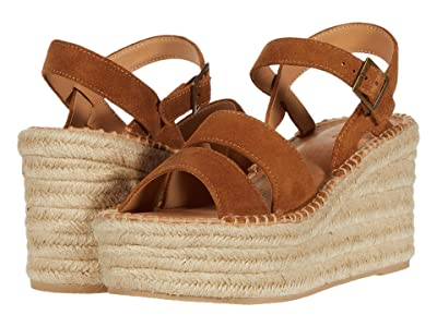 Soludos Como Platform Wedge (Walnut) Women