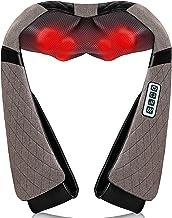 Neck Back Massager, Shiatsu Neck Shoulder Massager with Heat, Electric Neck Massage..