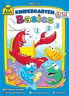 Kindergarten Basics Workbook Ages 5-6