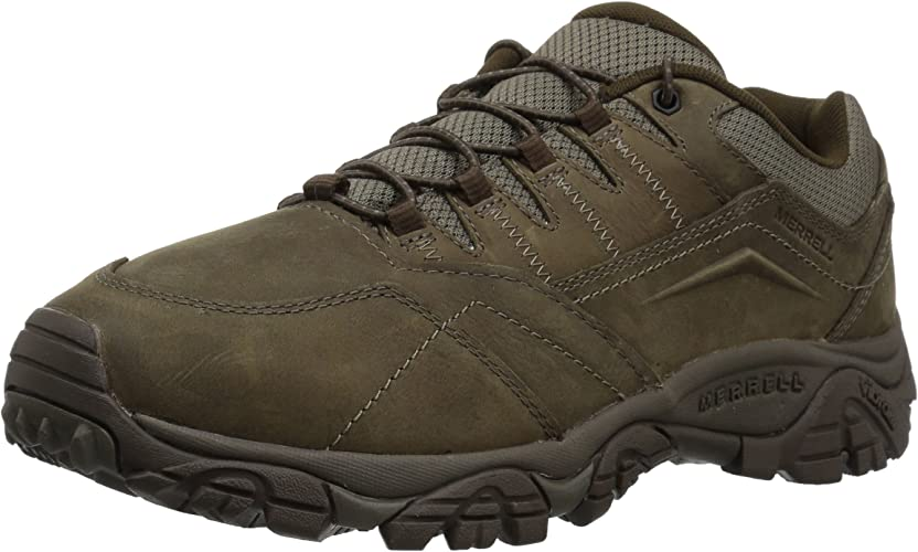 Merrell Men's Moab Adventure Stretch Hiking chaussures, Boulder, 12 Wide US