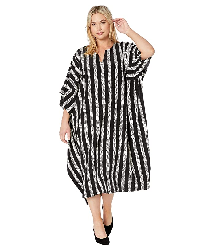 DUBGEE by Whoopi Plus Size Tunic Style Long Dress | 6pm
