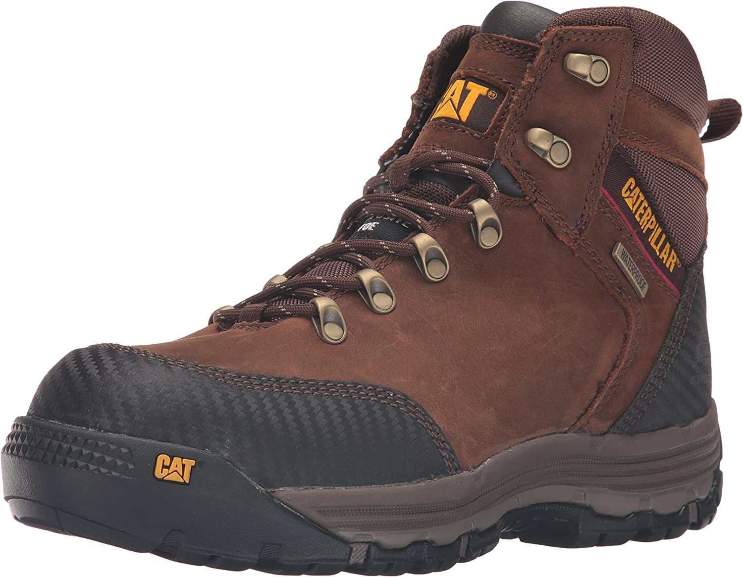 Caterpillar Men's Munising 6  Waterproof Comp Toe Industrial and Construction shoes