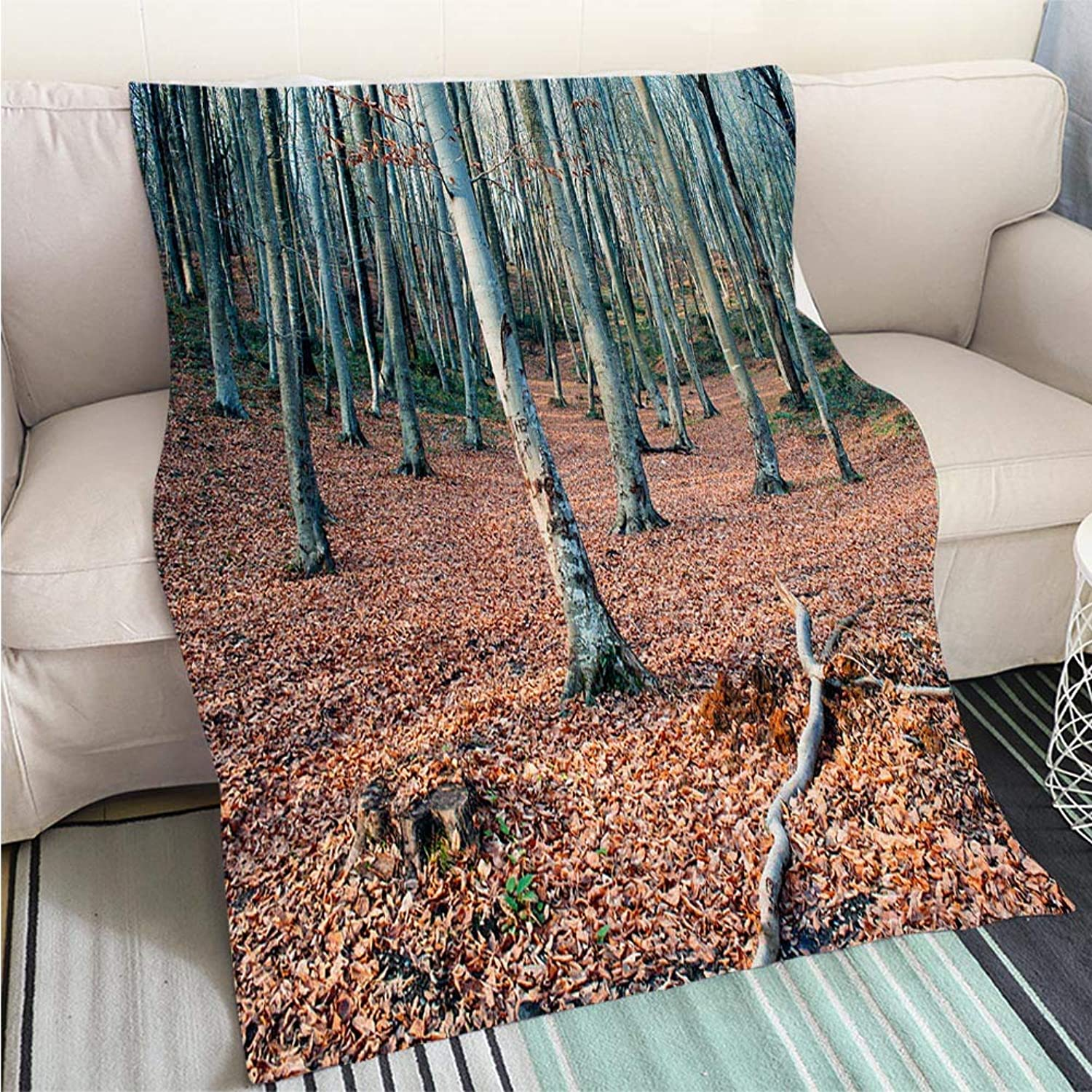 BEICICI Art Design Photos Cool Quilt Forest Sofa Bed or Bed 3D Printing Cool Quilt