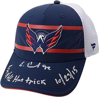 new product 3efa6 4236b Evgeny Kuznetsov Washington Capitals Autographed Fanatics Cap with