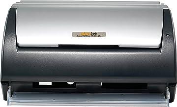 Plustek SmartOffice PS3060U Document Scanner, 30ppm/60ilm Speed, 50 Page ADF, Instant On
