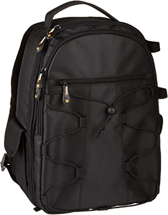 AmazonBasics Backpack for SLR/DSLR Camera and Accessories - 11 x 6 x 15 Inches, Black