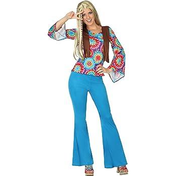 Atosa - Disfraz Hippie para adulto (111-28455): Amazon.es ...