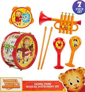 Daniel Tiger's Neighborhood Musical Instrument Playset, Multicolor