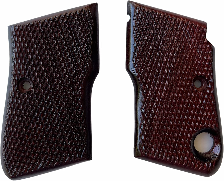 Beretta 950 950B 950BS .22 Short Checkered Industry No. 1 ACP trust h Grips .25 grips
