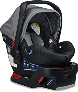 Britax B-Safe 35 Infant Car Seat - 4 to 35 Pounds - Rear Facing - 1 Layer Impact Protection, Dove