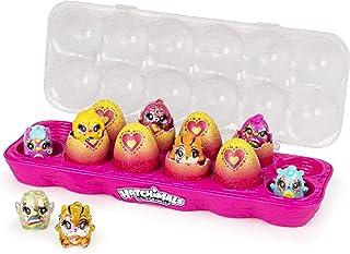 해치멀 콜에그터블즈 리미 에디시 글램페티 에그 12팩 Hatchimals CollEGGtibles, Limmy Edish Glamfetti 12-Pack Egg Carton with 12  Hatchimals (Styles May Vary)