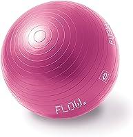 Abilica FitnessBall 65 cm Anti-Burst, Heavy-Duty Träningsboll för Fitness, Yoga, Träning & Stol (Rosa)