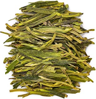 Oriarm 250g / 8.82oz Xihu Longjing Tea Loose Leaf - Chinese Long Jing Dragon Well Green Tea Leaves - Spring Dragonwell Tea...