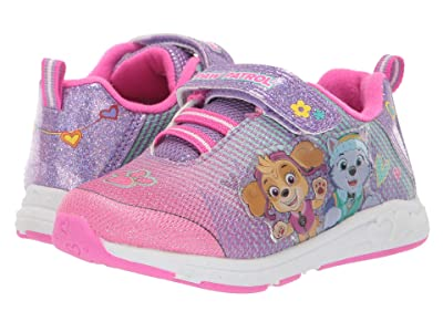 Josmo Kids Paw Patrol Mesh Sneaker (Toddler/Little Kid) (Purple/Pink) Girl