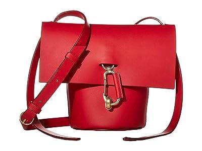 ZAC Zac Posen Belay Mini Crossbody Solid (Cranberry) Handbags