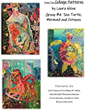 Fiberworks Inc. Teeny Tiny Collage Patterns Group #4 Applique by Laura Heine from 16