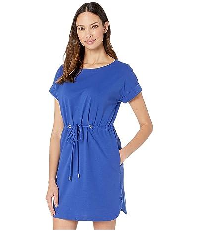 Tommy Bahama Veranda Short Sleeve Dress (Deep Ultramarine) Women