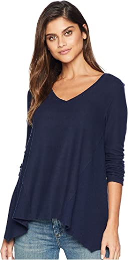 Super Soft Madison Long Sleeve V-Neck Top