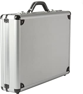 black aluminium briefcase