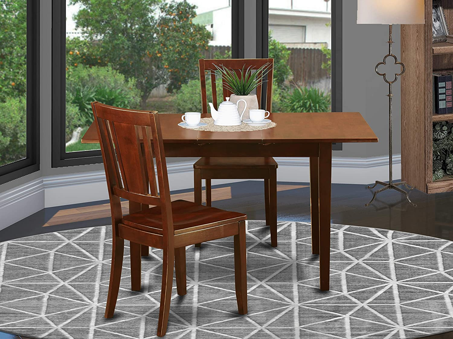 9 Pc Small dinette set   Dining Tables for small spaces and 9 Dining Chairs