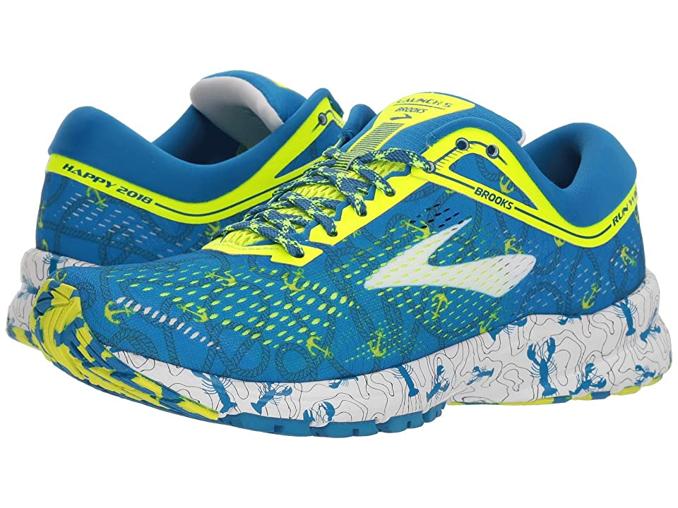 Brooks Launch 5 (Boston Blue/Nightlife/White) Women