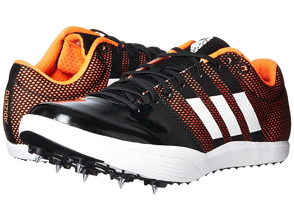 adidas Running adiZero Long Jump (Core Black/Footwear White/Orange) Running Shoes