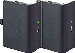 Venom - Twin Rechargeable Battery Packs Con Cubiertas, Color Negro (Xbox One)