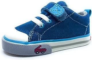 Stevie II Bright Blue Denim, Size 4 USA, Toddler