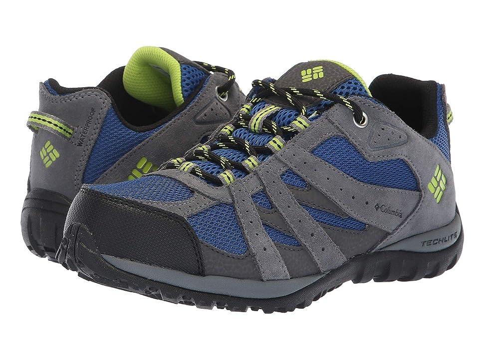 Columbia Kids Redmond Waterproof (Little Kid/Big Kid) (Azul/Bright Green) Boys Shoes