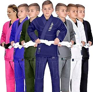 Elite Sports Kids BJJ GI, Youth IBJJF Children's Brazilian Jiujitsu Gi Kimono..