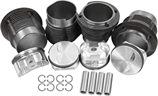AA Performance Products 103mm P&C Kit w/JE Forged Piston 22mm Pin Stroker