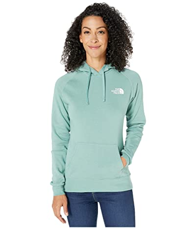 The North Face Red Box Pullover Hoodie (Trellis Green/TNF White) Women